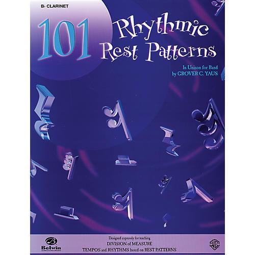 Alfred 101 Rhythmic Rest Patterns B-Flat Clarinet-thumbnail