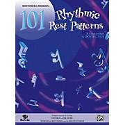 Alfred 101 Rhythmic Rest Patterns Baritone B.C. & Bassoon