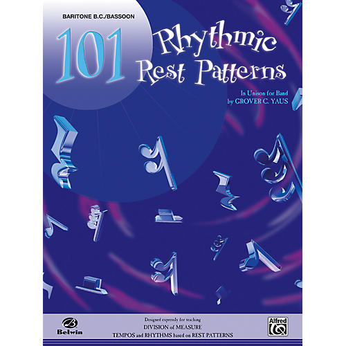Alfred 101 Rhythmic Rest Patterns Baritone B.C. & Bassoon
