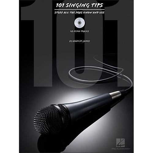 Hal Leonard 101 Singing Tips - Stuff All The Pros Know & Use Book/CD-thumbnail