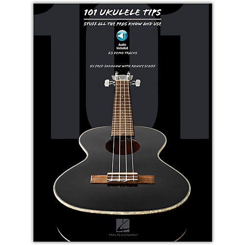 Hal Leonard 101 Ukulele Tips - Stuff All The Pros Know And Use (Book/Online Audio)-thumbnail