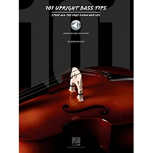 Hal Leonard 101 Upright Bass Tips - Stuff All The Pros Know and Use Book w/...