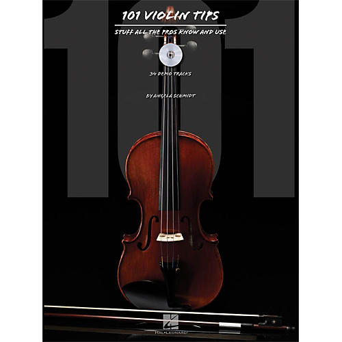 Hal Leonard 101 Violin Tips - Stuff All The Pros Know And Use Book/CD