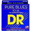 DR Strings PHR10 Pure Blues Nickel Medium Electric Guitar Strings