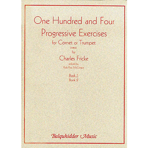 Carl Fischer 104 Progressive Exercises (1903) for Cornet or Trumpet Volume 1 Book-thumbnail