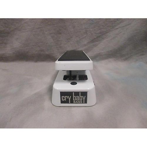 Dunlop 105Q Cry Baby Bass Wah Bass Effect Pedal-thumbnail
