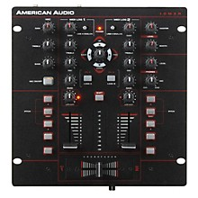 American Audio 10MXR 2-Channel MIDILOG DJ Mixer Level 1