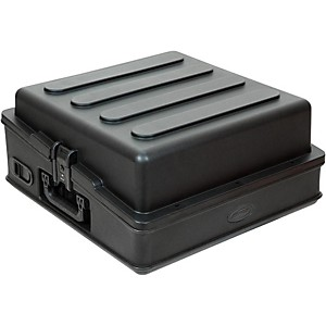 SKB 10U Slant Mixer Case with Hardshell Top by SKB