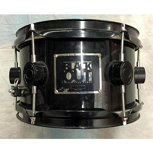 In Store Used 10X5 Black Out Snare Drum