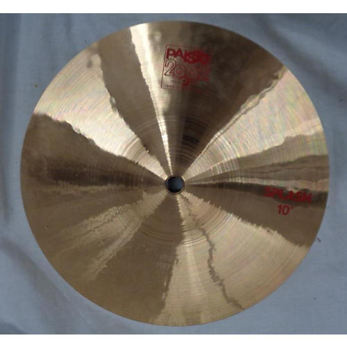 Paiste 10in 2002 SPLASH Cymbal