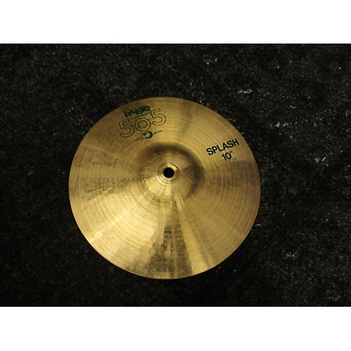 used paiste 10in 505 cymbal guitar center. Black Bedroom Furniture Sets. Home Design Ideas