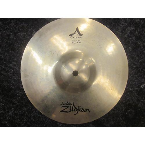 Zildjian 10in A Custom Splash Cymbal-thumbnail