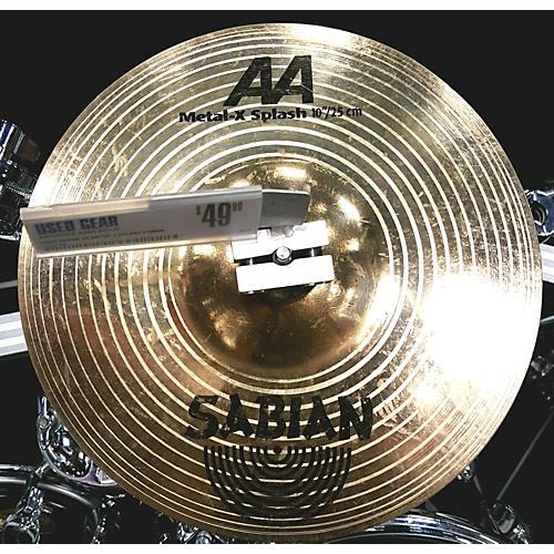 Sabian 10in AA Metal X Splash Cymbal
