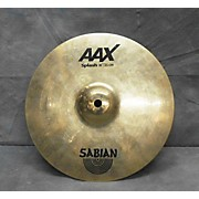 Sabian 10in AAX Splash Brilliant Cymbal