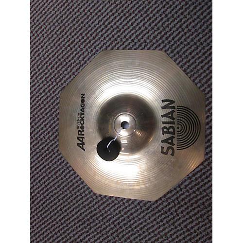Sabian 10in Aa Rocktagon Splash Cymbal-thumbnail