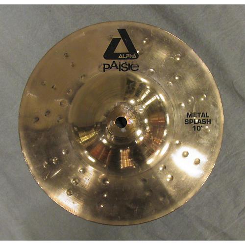 Paiste 10in Alpha Metal Splash Cymbal-thumbnail