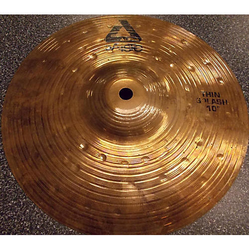 Paiste 10in Alpha Thin Splash BRONZE Cymbal