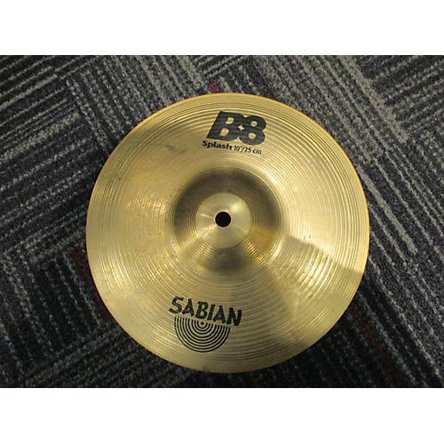 Sabian 10in B8 Splash Cymbal-thumbnail