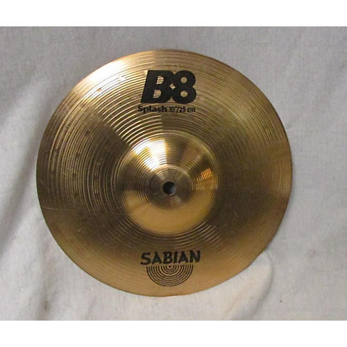 used sabian 10in b8 splash cymbal guitar center. Black Bedroom Furniture Sets. Home Design Ideas