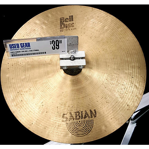 Sabian 10in Bell Disc Cymbal
