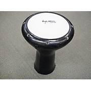 Tycoon Percussion 10in Black Leather Djembe