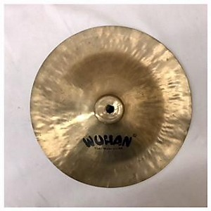 Pre-owned Wuhan 10 inch China Cymbal by Wuhan