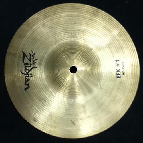 Zildjian 10in EFX #1 Cymbal-thumbnail