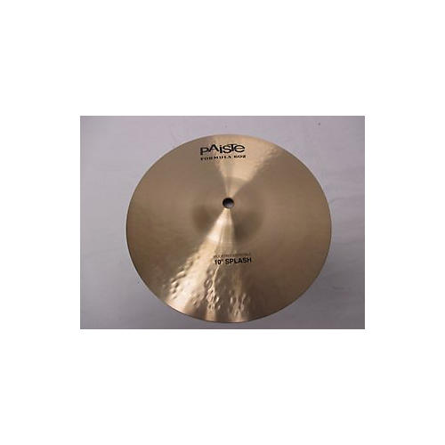 Paiste 10in Formula 602 Modern Essentials Splash Cymbal-thumbnail