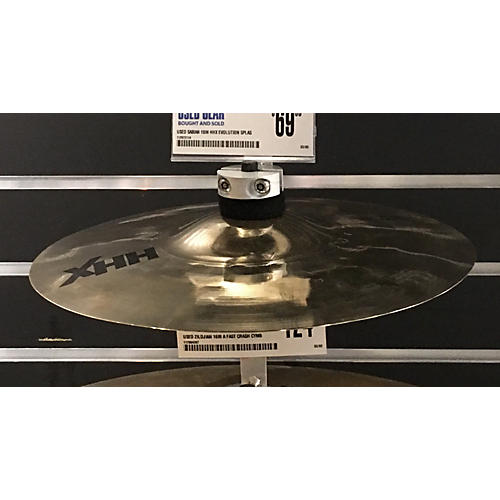 Sabian 10in HHX Evolution Splash Cymbal-thumbnail