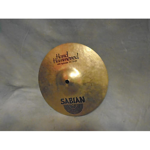 Sabian 10in Hand Hammered Cymbal