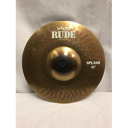 Paiste 10in Rude Splash Cymbal