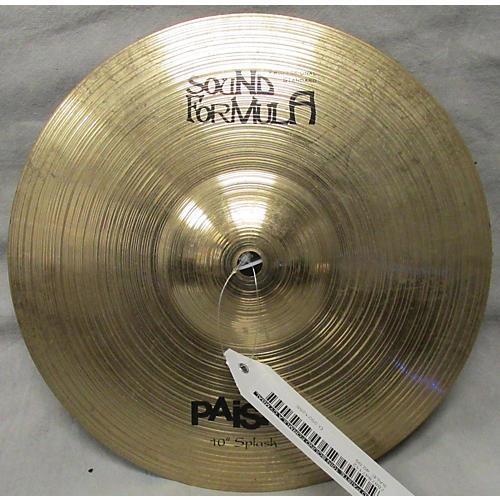 Paiste 10in SOUND FORMULA Cymbal-thumbnail
