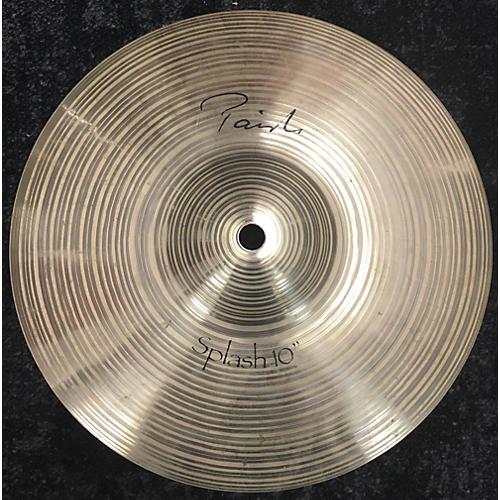 Paiste 10in Signature Splash Cymbal  28