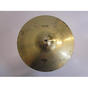 Pre-owned Wuhan 10 inch Splash Cymbal by Wuhan