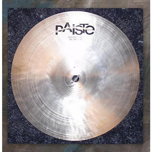Paiste 10in T20 Prototype Splash Cymbal-thumbnail