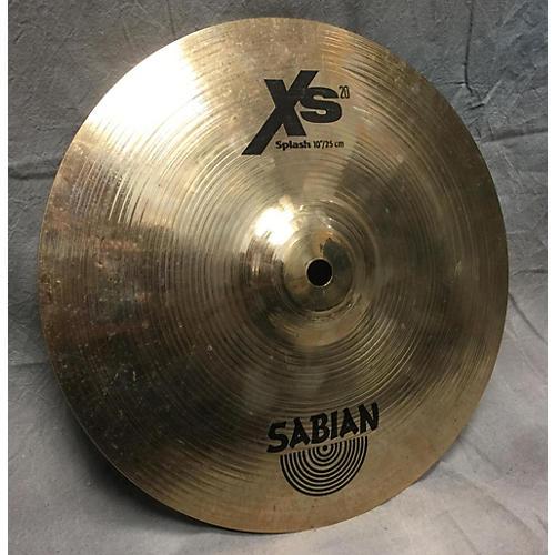 Sabian 10in XS20 Splash Cymbal-thumbnail