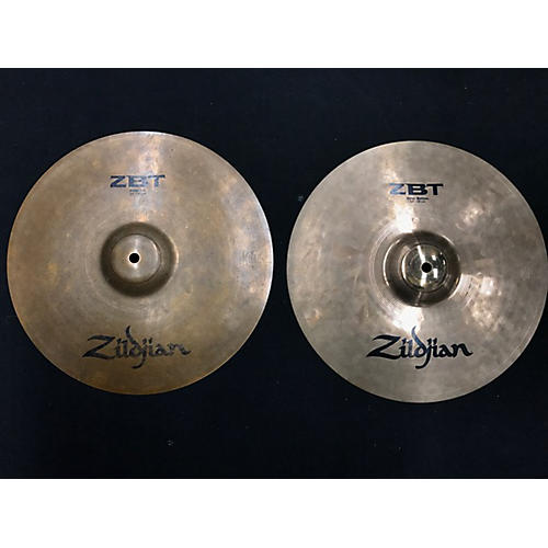 Zildjian 10in ZBT Rock Hi Hat Pair Cymbal-thumbnail