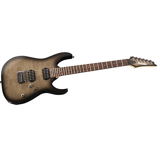 Ibanez 10th Anniversary RG1421 Prestige Electric Guitar Black Haze Burst