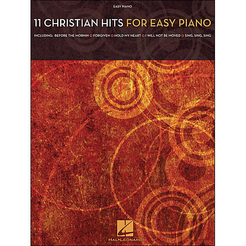 Hal Leonard 11 Christian Hits for Easy Piano