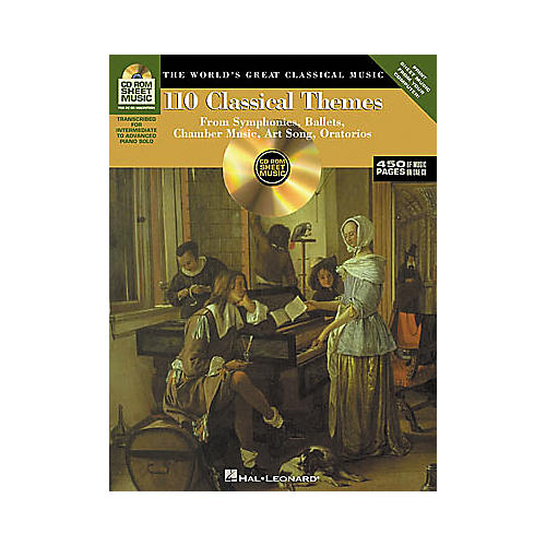 Hal Leonard 110 Classical Themes CD-ROM Sheet Music