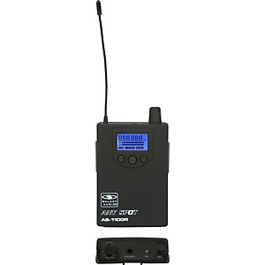 Galaxy Audio 1100 SERIES Wireless In-Ear Monitor Receiver Frequency with E...
