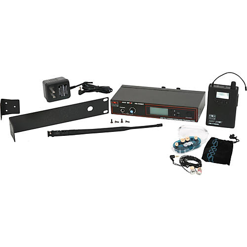 Galaxy Audio 1100 SERIES Wireless In-Ear Monitoring System with EB3 Earbuds