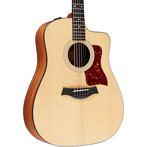 Taylor 110ce Dreadnought Acoustic-Electric Guitar Natural