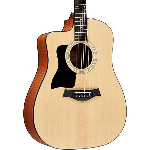 Taylor 110ce-L Sapele/Spruce Dreadnought Left-Handed Acoustic-Electric Guitar Natural
