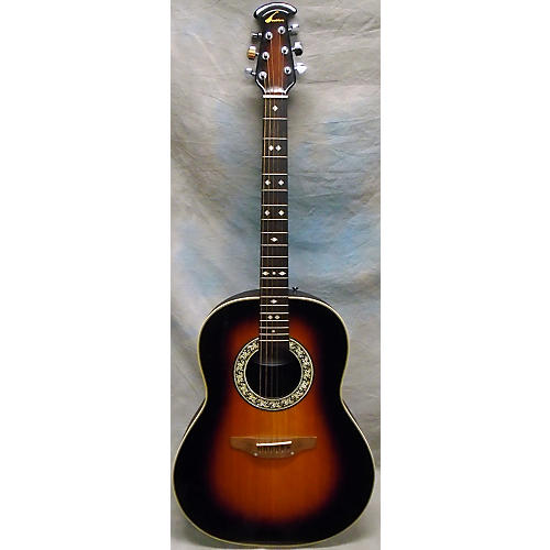 Ovation 1112 BALLADEER Acoustic Electric Guitar-thumbnail
