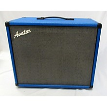 Avatar 112 Blue Tolex W/ Celestion Alnico Blue Speaker Guitar Cabinet