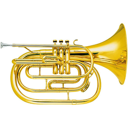 King 1122 Ultimate Series Marching Bb French Horn-thumbnail