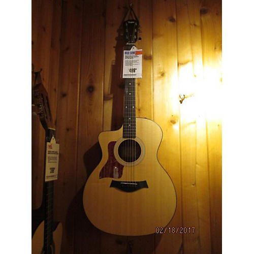 Taylor 114CE Left Handed Acoustic Electric Guitar-thumbnail