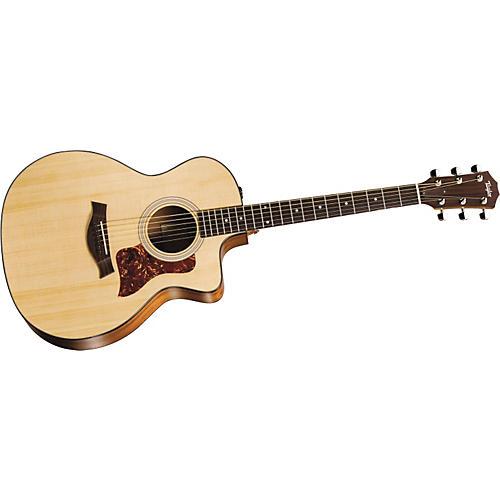 Taylor 114ce-L Sapele/Spruce Grand Auditorium Left-Handed Acoustic-Electric Guitar