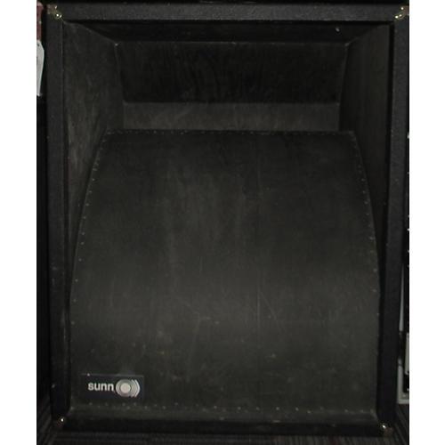 Used Sunn 118H 1X18 FOLDED HORN Bass Cabinet   Guitar Center